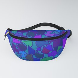 Circles & Squares Type 4 Fanny Pack