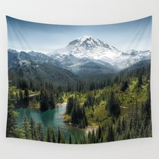 Mountain, Scenic, Eunice Lake 2016 Wall Tapestry