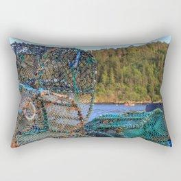 A Fisherman's Tools Rectangular Pillow