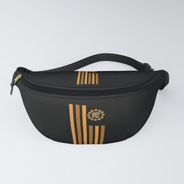 Tiger - Flag Fanny Pack