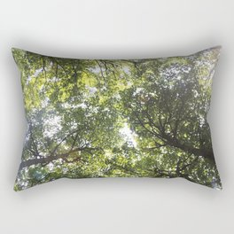 Looking up at the Trees Rectangular Pillow