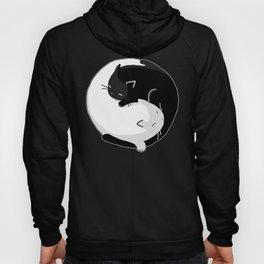 Yin Yang Cats Hoody