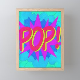 POP Art Electrified! Framed Mini Art Print
