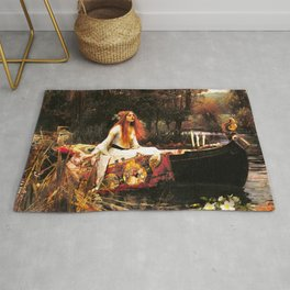 The Lady of Shalott Remastered Rug