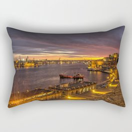 Valletta Twylight  Rectangular Pillow