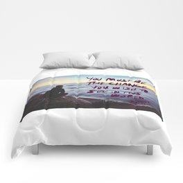 youmustbethechange Comforters