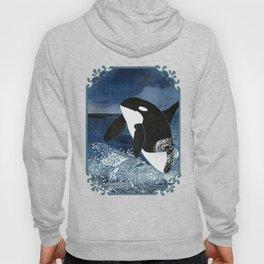 Killer Whale Orca Hoody