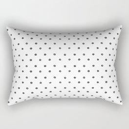 Synced Polkas Rectangular Pillow