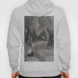 Grey Mountain Lake Hoody