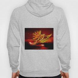 Phoenix Bird Fire Hoody