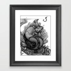 Fishkey Framed Art Print