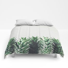 Pineapple Leaves Comforters