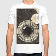 Vintage Argus camera Mens Fitted Tee White MEDIUM