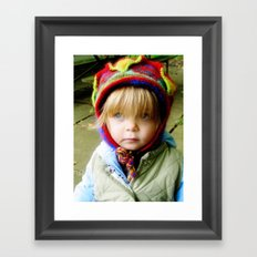 The Hat Framed Art Print