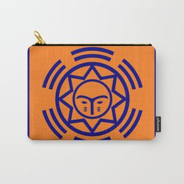 African Shield In Two Colors Carry-All Pouch