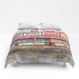Big Steve's Italian Sausage Hampton Beach Boardwalk Comforters