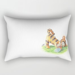 Baby Tigger and Ninja Turtle Rectangular Pillow