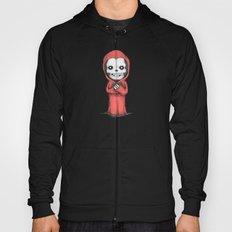 Crimson Ghost Plush Hoody