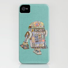 R2D2 Crashed Into A Flower Shop iPhone (4, 4s) Slim Case