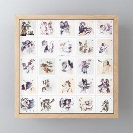 Collection 25 ~ Los Caprichos Framed Mini Art Print