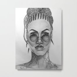 the feisty one Metal Print