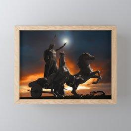 The Eve of War Framed Mini Art Print