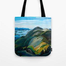 Canadian Landscape Franklin Carmichael Art Nouveau Post-Impressionism Tote Bag