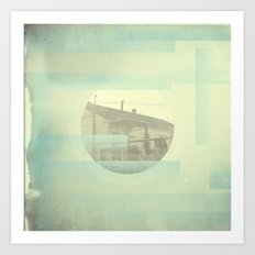 the places we'll never miss Art Print