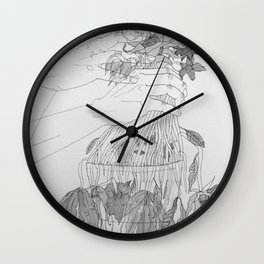 Wither Wall Clock