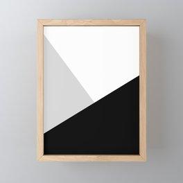 Monochromatic Framed Mini Art Print