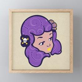 Girl Power Star Child Framed Mini Art Print