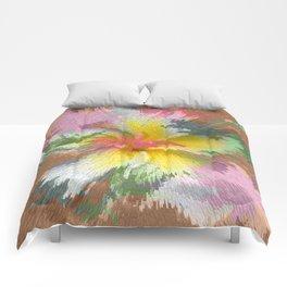 Flowers 9 DF Comforters