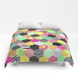 Color Hive Comforters
