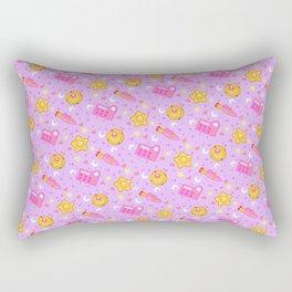 Usagi's Items Pattern / Sailor Moon  Rectangular Pillow