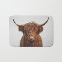 Highland Cow - Colorful Bath Mat