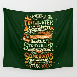 You are your you Wall Tapestry