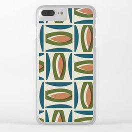 Alcedo - Orange Clear iPhone Case