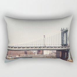 Manhattan Bridge Rectangular Pillow