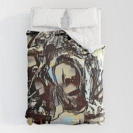 Metal Paper Skull Comforters