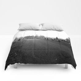 Dark Cemetery Comforters
