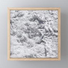 Ocean latte Framed Mini Art Print