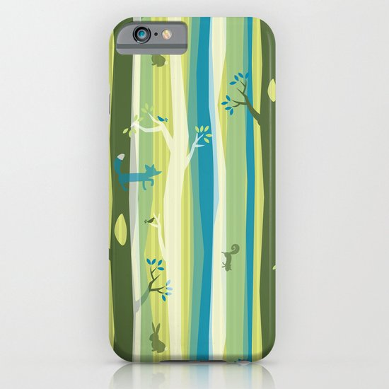 Woodland Stripe iPhone & iPod Case