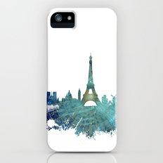 Paris skyline wind rose Slim Case iPhone SE