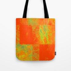 Orange yellow decoration Tote Bag