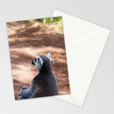 Lemur Catta III Stationery Cards