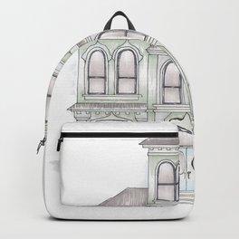 Green Italianate Victorian Backpack