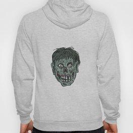 Zombie Skull Head Drawing Hoody