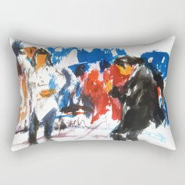 Pulp Fiction dance Rectangular Pillow