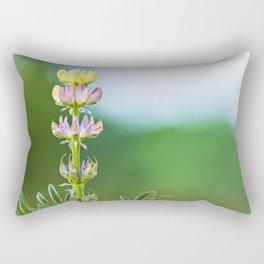 Wild lupine flower Rectangular Pillow