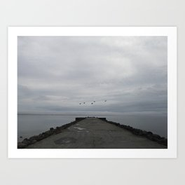 northern melancholy Art Print
